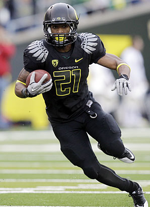 LaMichael James 2012 NFL Mock Draft